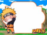 Naruto Birthday Invitation Template Free Printable Naruto Birthday Invitation Template Free
