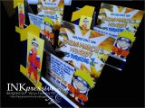 Naruto Birthday Invitation Template Naruto Inkpressive Invitations and Crafts