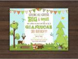 Nature themed Birthday Party Invitations Items Similar to Printable Critter Birthday Invitation
