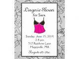 Naughty Bridal Shower Invitations Black Lacy Lingerie Bridal Shower Invitations