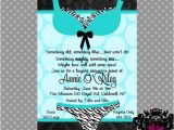 Naughty Bridal Shower Invitations Items Similar to something Naughty and Nice Bridal Shower