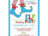Naughty or Nice Party Invitations Naughty or Nice Magic Elf Holiday Party Invitation Zazzle