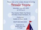 Nautical Baby Shower Invitations Cheap Cheap Nautical theme Baby Shower Invitations Templates