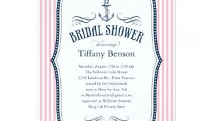 Nautical Bridal Shower Invitation Template Nautical Bridal Shower Invitations