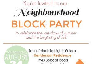 Neighborhood Block Party Invitation Template Free Block Party Invitation Digital File by Blankcanvasdesignco
