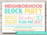 Neighborhood Block Party Invitation Template Free Neighborhood Block Party Invitation Announcement Invite
