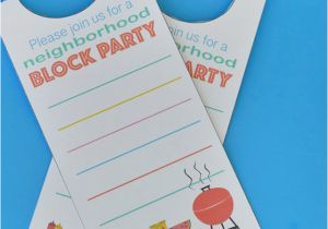 Neighborhood Block Party Invitation Template Free Neighborhood Block Party Invitation Free Printable Our