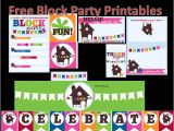 Neighborhood Block Party Invitation Template Free Neighborhood Block Party Printables Free