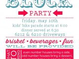 Neighborhood Block Party Invitation Template Free Party Invite Template Block Party Invitation Template