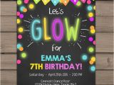 Neon Party Invitations Templates Free Best 25 Neon Glow Ideas On Pinterest Diy Blacklight