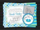 New Little Prince Baby Shower Invitations Little Prince Baby Shower Invitation Digital by