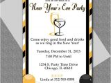 New Year Party Invitation Template New Years Eve Party Invitation Editable Template