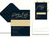 New Years Eve Wedding Invitations Wording New Year 39 S Eve Wedding Invitations Wedding Stationery