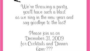 New Years Eve Wedding Invitations Wording New Year S Eve Party Invitations Wording
