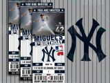 New York Party Invitation Template 7 Best New York Yankees Party Images On Pinterest