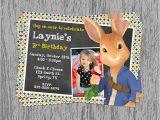 Nick Jr Printable Birthday Invitations Nick Jr 39 S Peter Rabbit Birthday Invitation Digital File