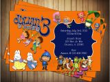 Nick Jr Printable Birthday Invitations Novel Concept Designs Nick Jr Birthday Invitation and