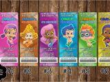Nick Jr Printable Birthday Invitations Novel Concept Designs Nick Jr Bubble Guppies Ticket