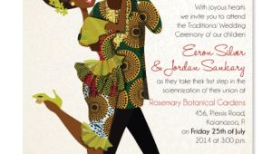 Nigerian Wedding Invitation Template Awesome African Traditional Wedding Invitation Cards