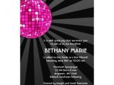 Nightclub themed Party Invitations Club theme Bar and Bat Mitzvah Ideas Jew It Up
