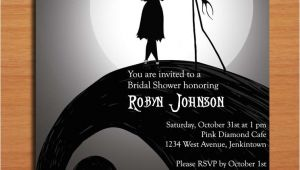 Nightmare before Christmas Bridal Shower Invitations Nightmare before Christmas Bridal Shower Customized