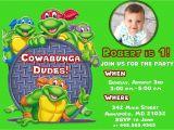 Ninja Turtle Party Invitation Template Free Ninja Turtle Birthday Party Invitations Free Invitation