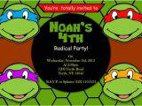 Ninja Turtle Party Invitation Template Free Printable Invitation Teenage Mutant Ninja Turtles by