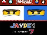 Ninjago Party Invitation Template 17 Best Ninjago Birthday Invitations Images On Pinterest