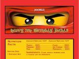 Ninjago Party Invitation Template 40th Birthday Ideas Ninjago Birthday Invitation Template Free