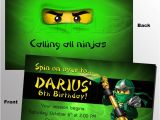 Ninjago Party Invitation Template 55 Best Images About Lego Party On Pinterest