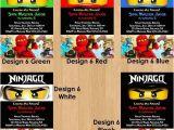 Ninjago Party Invitation Template Free Free Printable Ninjago Birthday Party Invitations