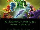 Ninjago Party Invitation Template Free Ninjago Party Invitation Laura 39 S Crafty Life