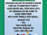Ninjago Party Invitation Template Lisa 39 S Latest