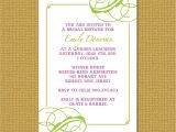 No Wrap Bridal Shower Invitation Wording Invitation Wording No Wrapping Paper Choice Image