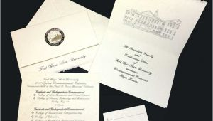 Non Photo Graduation Invitations fort Hays State University Announcements