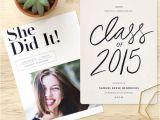 Non Photo Graduation Invitations top 25 Best College Graduation Announcements Ideas On