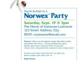 Norwex Party Invitation Wording norwex Party Invitation