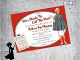 Nursing Graduation Party Invitations Card Nurse Graduation Invitation Calling the Shots