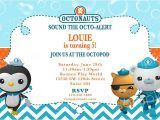 Octonauts Birthday Party Invitations Octonauts Birthday Invitation Diy Digital by Modpoddesigns