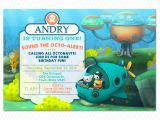 Octonauts Birthday Party Invitations Octonauts Birthday Invitations Octonauts Birthday