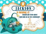 Octonauts Birthday Party Invitations Octonauts Invitation Octonauts Birthday Free Thank You