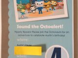 Octonauts Birthday Party Invitations Savvy Style Mindful Home Octonauts Birthday Party