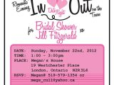 Office Bridal Shower Invitation Wording Bridal Shower Invitation Date Night theme 25 50 00