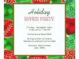 Office Christmas Party Invitation Template Christmas Holiday Office Party Invitations Zazzle Com