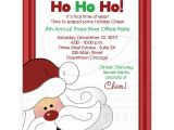 Office Christmas Party Invitation Template Christmas Office Party Invitations
