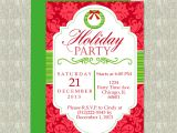 Office Party Invitation Template Editable Holiday Party Invitation Editable Template Microsoft Word