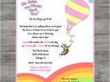 Oh the Places You Ll Go Baby Shower Invitations Photodesignz On Etsy