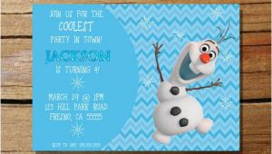 Olaf Birthday Invitation Template Frozen Olaf Invitation by Kidspartyprintshop On Etsy 10