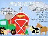 Old Macdonald Had A Farm Birthday Invitations Old Macdonald Had A Farm Birthday Party Ideas