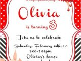 Olivia the Pig Birthday Invitations Olivia the Pig Invitation Party Personalized by